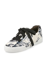 3.1 Phillip Lim Morgan Leather Low Top Sneaker Off White Men's Size 11B 41Eu