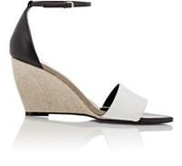 Narciso Rodriguez Women's Alba Wedge Sandals Dark Grey Size 8.5