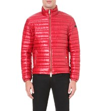 Burberry Quilted Shell Jacket Parade Red