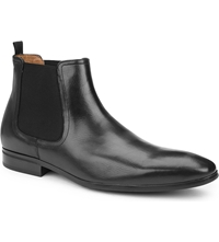 Kurt Geiger Gerald Leather Chelsea Boots Black