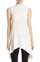 Parker Women's 'Jax' Handkerchief Hem Sleeveless Knit Tunic