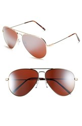 Electric Eyewear Women's Electric 'Av1 Xl' 62Mm Aviator Sunglasses