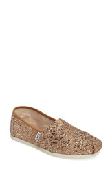 Toms Women's 'Classic Lace Glitz' Slip On