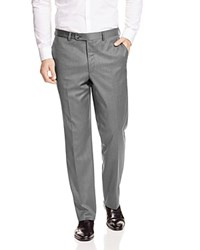 Jack Victor Loro Piana Classic Fit Trousers Light Grey