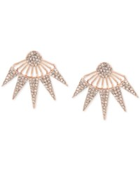 Inc International Concepts Pave Burst Earring Jackets Only At Macy's Rose Gold