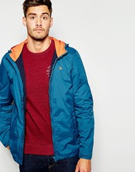 Jack Wills Nylon Jacket In Blue