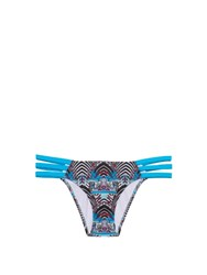 Paolita Rhapsody Side Strap Bikini Briefs Blue Multi