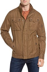 Men's Jeremiah 'Thorne' Coated Canvas Jacket Peat