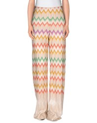 Missoni Trousers Casual Trousers Women Beige