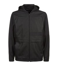 T By Alexander Wang Hooded Leather Jacket Male