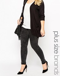 New Look Inspire Mottled Jegging Black