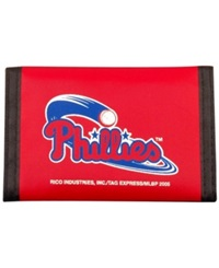 Rico Industries Philadelphia Phillies Nylon Wallet Team Color
