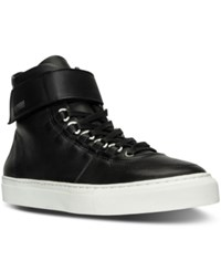 K Swiss Men's High Court Casual Sneakers From Finish Line Black Black