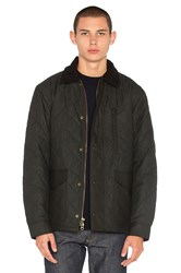 Filson Quilted Mile Marker Black