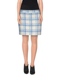 Ganni Mini Skirts Blue
