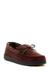 Gold Toe Canoe Moccasin Brown