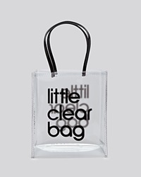 Bloomingdale's Tote Little Clear Bag