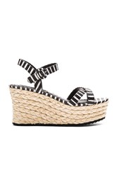 Alice Olivia Rachel Wedge Black And White