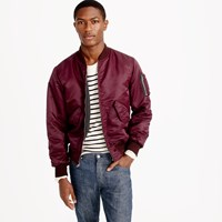 J.Crew Wallace And Barnes Ma 1 Primaloft Bomber Jacket