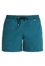 Hom Marina Swimming Shorts Olive Dark Green