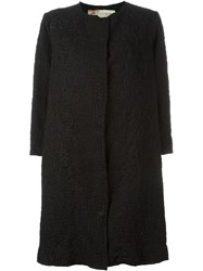 By Walid Knit Coat Black