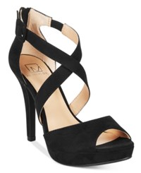 Material Girl Helenah Platform Dress Sandals Only At Macy's Women's Shoes Black