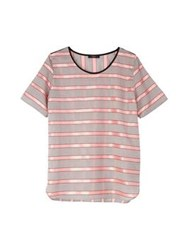 Paul Smith Black Stripe Top Pink