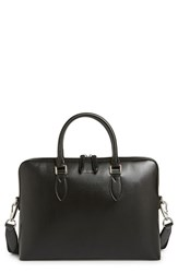 Men's Burberry 'New London' Calfskin Leather Briefcase