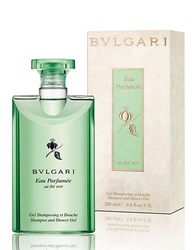 Bulgari Eau Parfumee Au The Vert Collection Shampoo Shower Gel 6.8 Oz. No Color