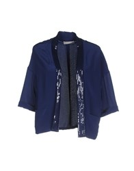 Stefanel Suits And Jackets Blazers Women Dark Blue