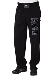 Alpha Industries Track Pant Tracksuit Bottoms Black