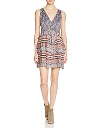 Twelfth St. By Cynthia Vincent Twelfth Street By Cynthia Vincent Double Tier Pleat Dress Ditsy Print