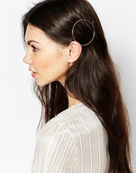 Monki Circular Hair Pin Gold