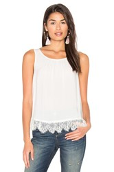 Velvet By Graham And Spencer Ottaline Tank White