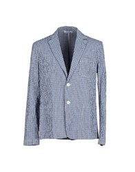 Perfection Suits And Jackets Blazers Men Blue