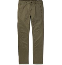 Rag And Bone Fit 2 Cotton Twill Chinos Green