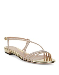 Sebastian Spepla Cry Sandals Gold Nude