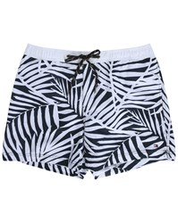 Tommy Hilfiger Blue Palm Swim Shorts