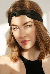 Forever 21 Knotted Headwrap Black