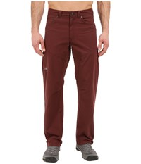 Arc'teryx Bastion Pant Redwood Men's Casual Pants Mahogany