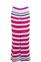 Missoni Stripe Knit Trouser Pink