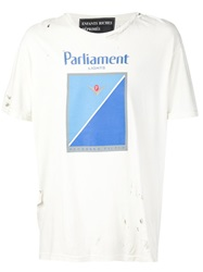 Enfants Riches Deprimes 'Parliament Light' T Shirt White