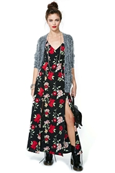 Nasty Gal After Party Vintage Night Bloom Dress