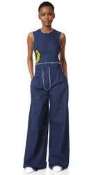 Natasha Zinko Denim Jumpsuit