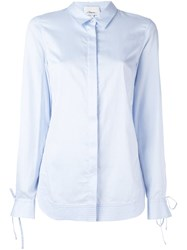 3.1 Phillip Lim Tied Cuff Shirt Blue