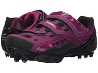 Louis Garneau Sapphire Magenta Purple Women's Cycling Shoes