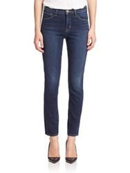 J Brand Cameron Corset High Rise Skinny Ankle Exposed