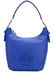 Tory Burch 'Harper' Shoulder Bag Blue