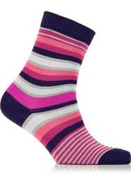 Paul Smith Ps By Stripe Sock Pink