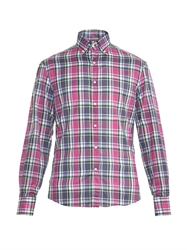 Michael Bastian Plaid Print Cotton Shirt